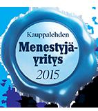 Kauppalehden Menestyjäyritys 2015 - Business Center Papula